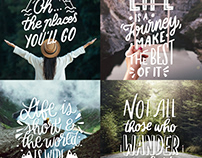 Adventure Lettering Collection