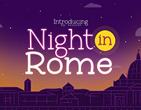 Night in Rome Font