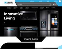E-commerce Website Mockup