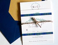 Cotton + Eucalyptus Wedding Suite