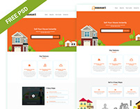 Realestate PSD Template Free PSD