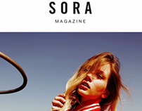 Weronika for Sora Magazine by Balint Nemes