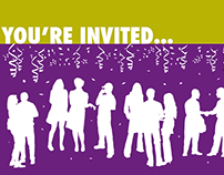 Headwaters Foundation for Justice: Invitation Design
