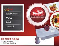 La diligence Restaurant WebSite
