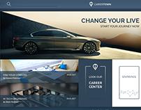 CAREERTOWN website concept