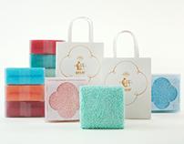 容品牌:勤劳毛巾厂-中式美学毛巾第一品牌全案策划&包装设计