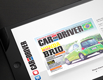 UI & Interacion: Car and Driver Magazine