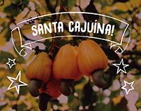 Embalagem: Santa Cajuína