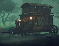 Witch Hunter Carriage | Gypsy Influence