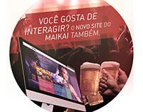 Maikai Maceió - Campanha novo site