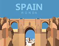 Ronda Andalusian City in Spain