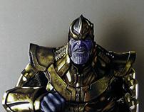 Drawing Thanos