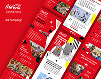 Coca – Cola display campaign
