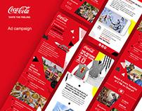 Coca – Cola display campaign