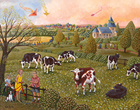 village vaches