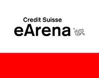 Credit Suisse eArena - Social Media Design