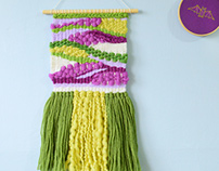 Small Woven Wall Hangings Part 2