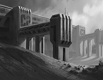 Environment design | Sketches