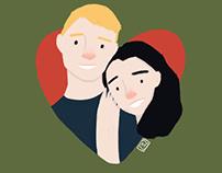 Valentine's Day Portraits