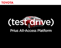 Prius All-Access Test Drive Platform and Flow