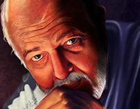 Digital Painting Portrait Mohamed khan