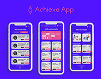 Achieve app - self-development and learning app