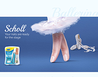 Scholl Nail Care System Launch