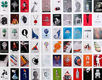 Sixty posters collection