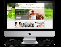 La Naturopathie - Site HTML&CSS