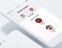 Premier League mobile app