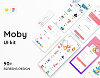 Moby E-commerce UI Kit
