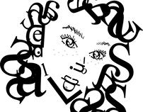 Typeface Self Portrait