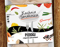 Kuchnia Smakosza | Dumplings packaging design