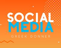 SOCIAL MEDIA - GREEK DONNER