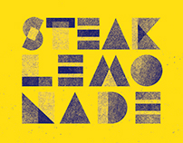 Steak + Lemonade Typeface