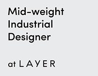 Middle-weight Industrial Designer