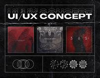 INDUSTRIAL TECHNO UI/UX CONCEPT