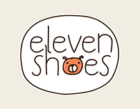 Eleven shoes for kids