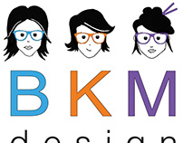 BKM Design Logo Project