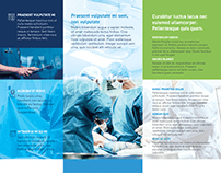 Half Fold Surgical Brochure Template