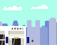 """Aruhi S"" animation"