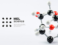 Studio DEZA's logotype for MEL Science