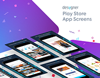 Desygner Play Store Screens