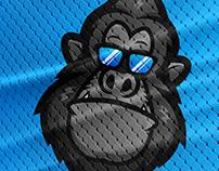 GORILLA MASCOT LOGO FOR MonkeyBusiness
