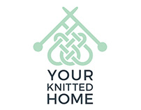 logo design for the store of knitted products