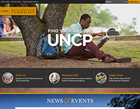 UNC Pembroke Website