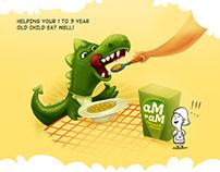 Am-am and mini dragon