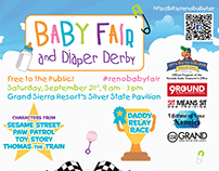 Baby Fair Event Branding and Logo