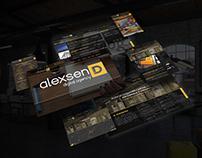 ALEXSEND | Digital agency Website