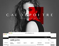 GittiGidiyor / CaddePortre web UI/UX Design
